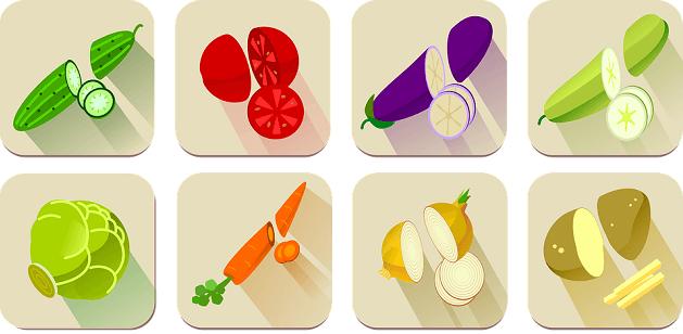 タンパク質含有量(野菜)