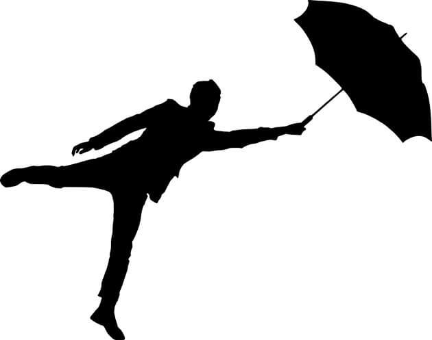 傘は意味がない