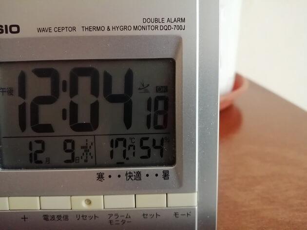 サンセベリア葉挿し開始の室内温度